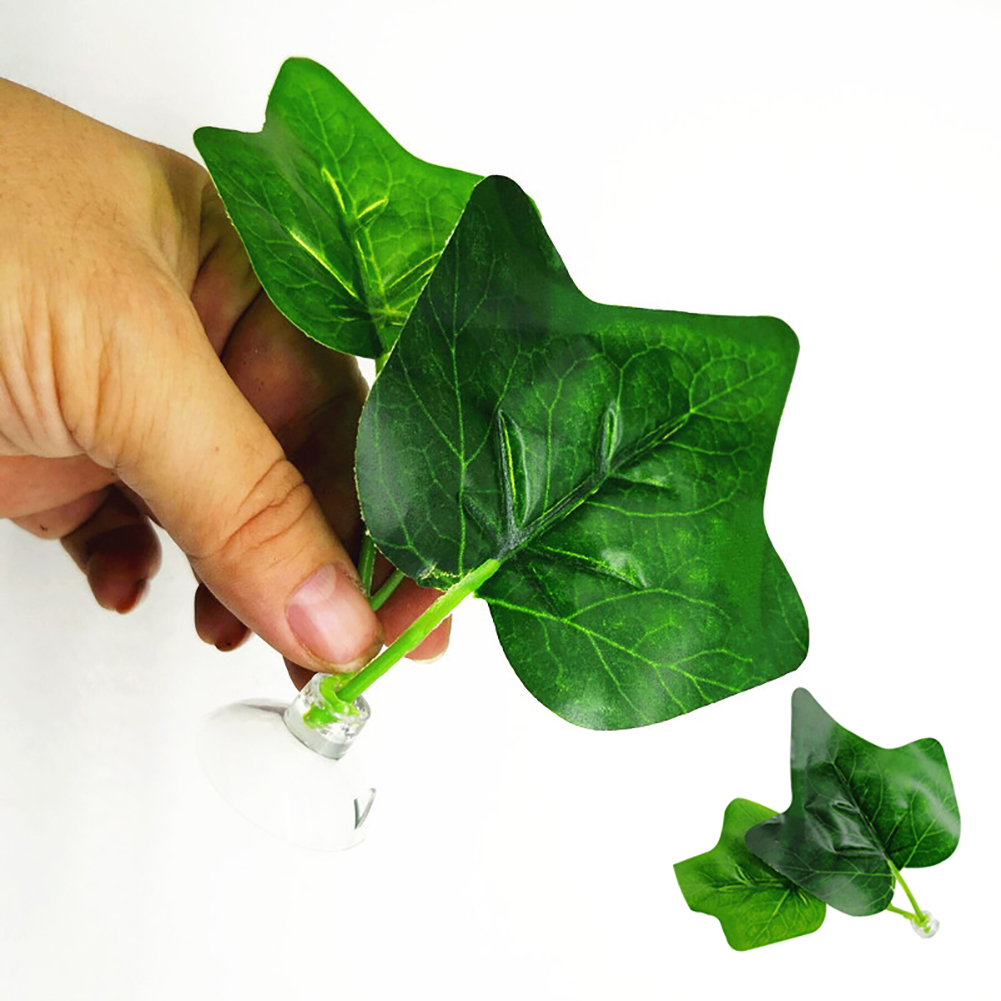 Heepo Artificial Aquarium Plant Simulation Vivid Leaf Fish Tank Decoration Ornament