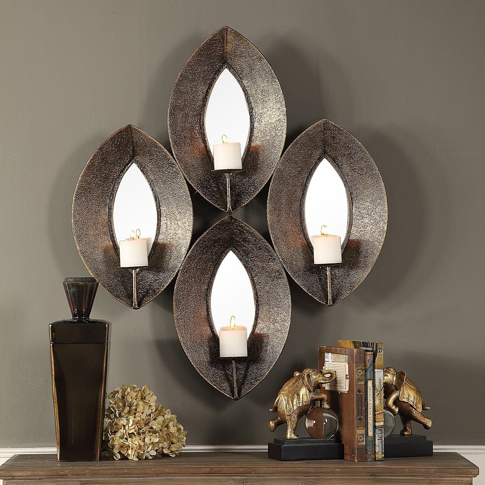 Uttermost Nina 4 Candle Wall Sconce Walmart Com