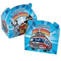 Firefighter Favor Boxes (6ct)
