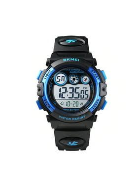 SKMEI Kids Digital Watch, 50M Waterproof, Sports, LED Light