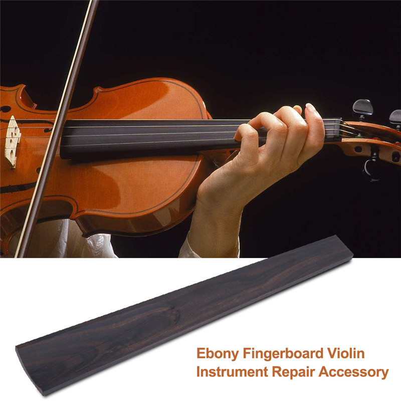 1Pc Ebony Fingerboard Violin Instrument Repair Accessory for 4 4 Size Violins Violin... by