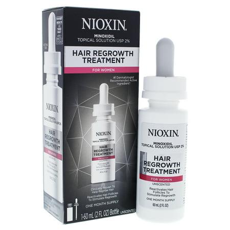 Hair Regrowth Treatment by Nioxin for Women 2 oz