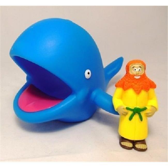 DDI 2122402 Jonah & Whale Christian Action Figure, Case o...
