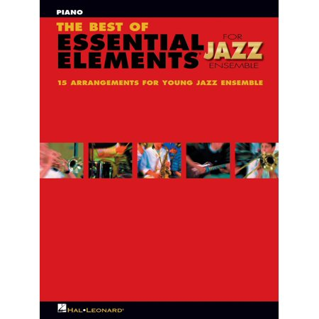 Hal Leonard The Best of Essential Elements for Jazz Ensemble Jazz Band Level 1-2 Composed by Michael (Best Greenlee Levels)