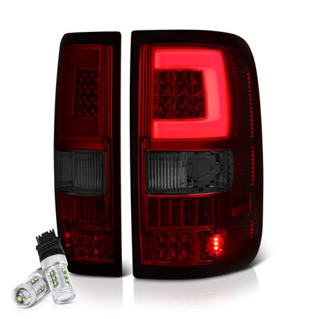 VIPMOTOZ Neon Tube LED Tail Light Lamp Assembly For 2004-2008 Ford F-150