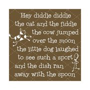 Forest Creations Hey Diddle Diddle Kids Canvas Art