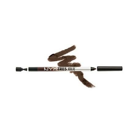 NYX Tres Jolie Gel Pencil Liner - 02 Brown - image 1 de 1
