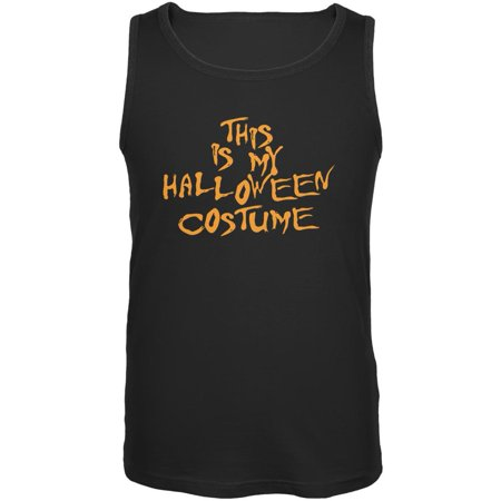 My Funny Cheap Halloween Costume Black Adult Tank Top](Cheap Diy Costumes)