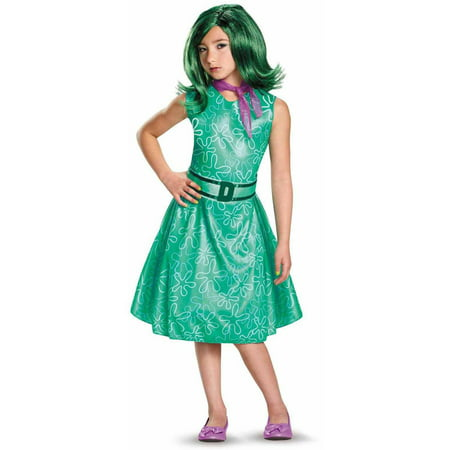 Disney Inside Out Classic Girls' Disgust Child Halloween Costume](Disney Halloween 2017)