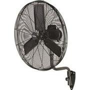 Garrison 3-Speed Industrial Oscillating Wall Mount Fan, 30 In., 9,500 Cfm