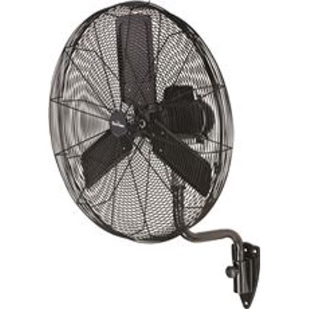 Garrison 3-Speed Industrial Oscillating Wall Mount Fan, 30 In., 9,500 Cfm