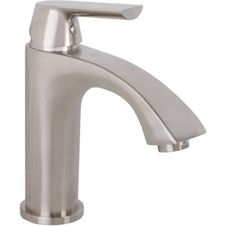 VIGO Penela Bathroom Single Hole Faucet, PVD Brushed Nickel