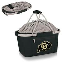 Colorado Buffaloes Metro Basket Collapsible Tote - Black