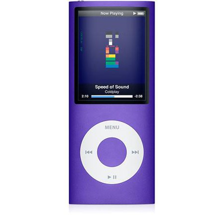 Apple iPod Nano 4th Generation 8GB Purple, Excellent with