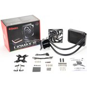 Enermax LIQMAX III ALL-IN-ONE LIQUID CPU COOLER - 1 x 120 mm - 90.1 CFM - 32 dB(A) Noise - Liquid Cooler Cooler - Ceramic Bearing - 4-pin PWM - Socket R4 LGA-2066, Socket R LGA-2011, Socket LGA 2011-v