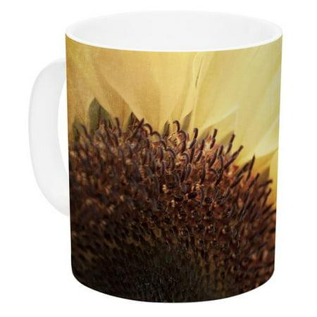 East Urban Home Sunshine By Susannah Tucker 11 Oz  Sunflower Ceramic Coffee Mug