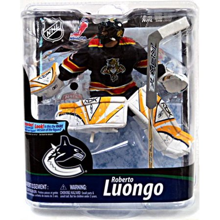 Roberto Luongo Action Figure Blue Panthers Jersey NHL Florida Panthers by