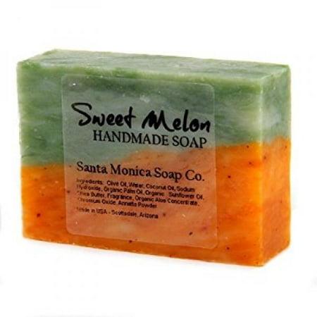 santa monica soap co. handmade soap - sweet melon with (Enterprise Fish Co Santa Monica Santa Monica Ca)