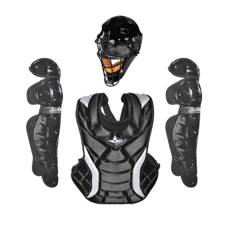 All Star Girls 13.5`` Player Series Catching Kit Black All Star Catchers Gear