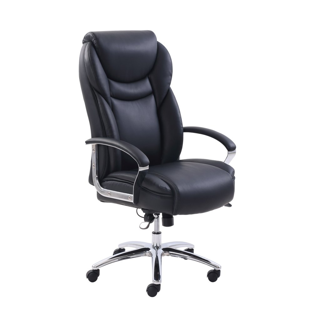 Serta Big & Tall Office Chair with Memory Foam, Adjustable, Multiple Colors
