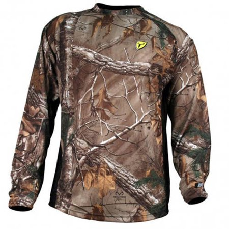 Youth Bone Collector 8th Layer Long Sleeve Shirt ScentBlocker, Available in Multiple Sizes