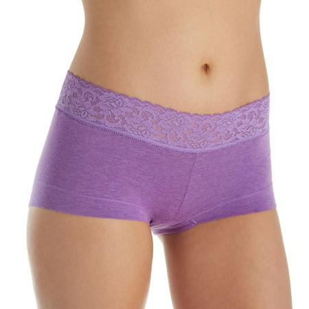cfb1e07389b Maidenform - Women's Maidenform 40859 Dream Cotton Boyshort Panty with Lace  - Walmart.com