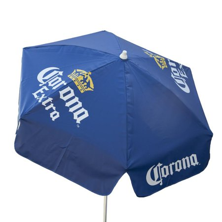 6ft Licensed Corona Extra Sun Shade Beach Umbrella For Home Patio Outdoor
