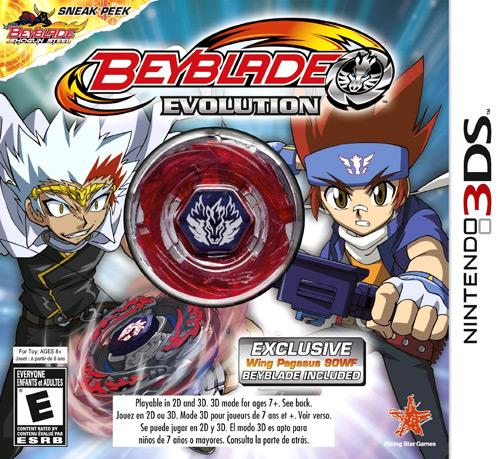 Nintendo 3DS Beyblade Evolution Video Game [With Beyblade]