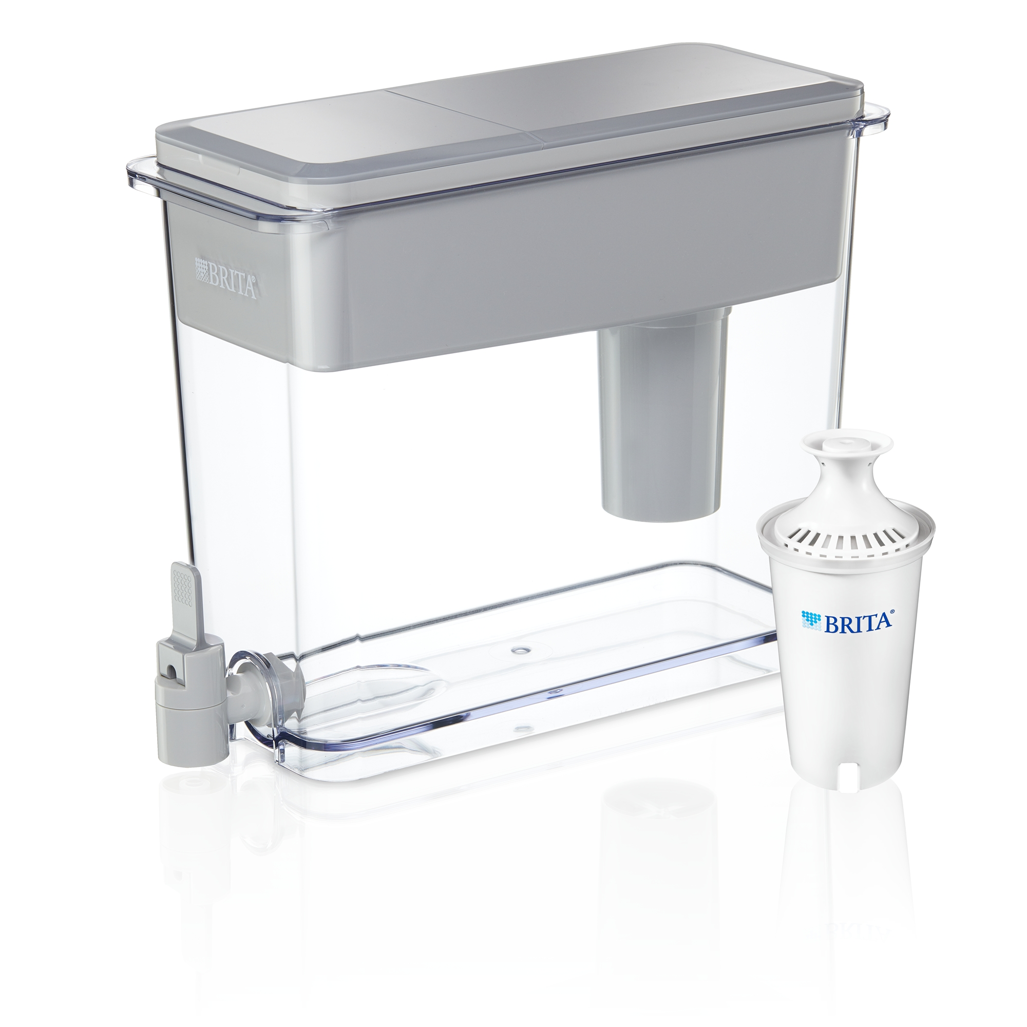 Water Filtration Dispenser Brita 18 Cup Ultramax Water Dispenser With 1 Filter Bpa Free