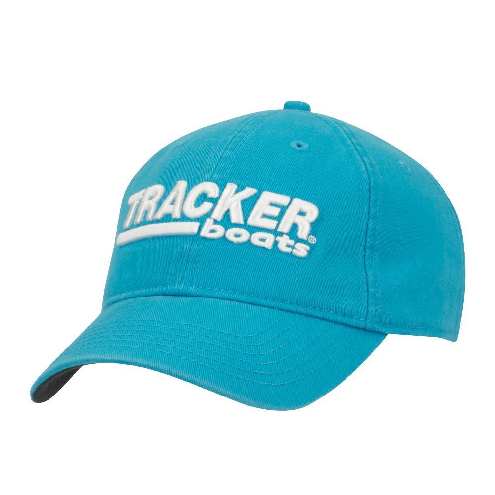 Tracker Boats Teal/White Ladies Fishing Cap Hat