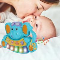 matoen Children's Musical Toys, Multi-Function Piano, Animal Sound, Light Songs