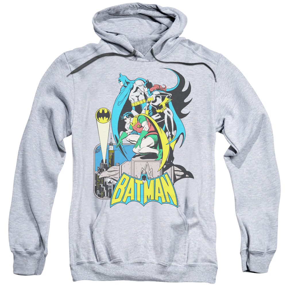DC Mens Heroland 3 Long Sleeve Hooded T-Shirt