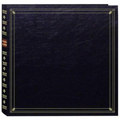 pioneer photo albums mp46 bl full size album 4x6 6 page 300 photo black. Black Bedroom Furniture Sets. Home Design Ideas