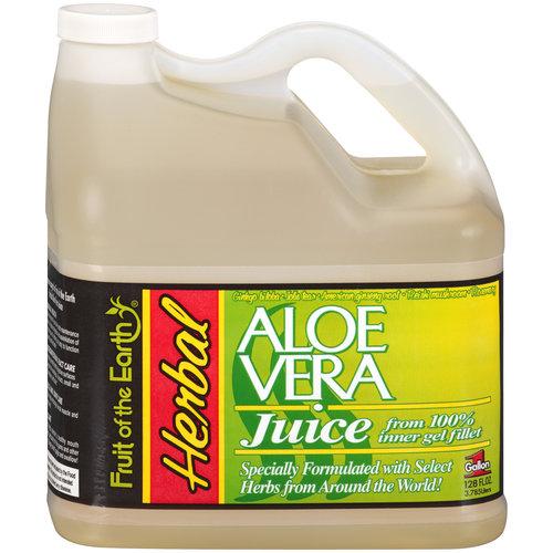 Fruit Of The Earth Herbal Aloe Vera Juice 128fo