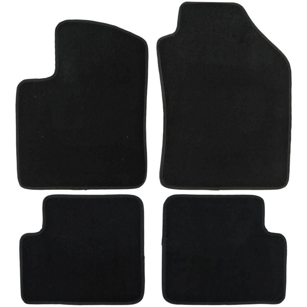 UAA Custom-fit Black Carpet Car Floor Mats Set for Honda Civic 2006-2011