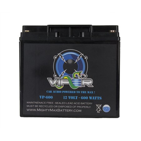 Viper VP-600 600 Watt Car Audio Battery for Fosgate HX2 12