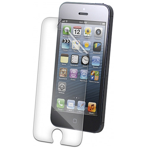 iphone 5s screen protector zagg invisibleshield screen protector for iphone 5 5s 14862