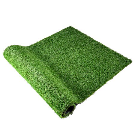 Yescom Artificial Grass Mat Fake Lawn Pet Turf Synthetic Green Garden Outdoor Indoor
