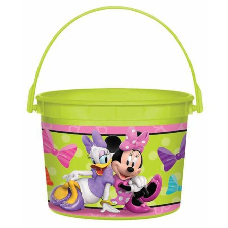 Disney Minnie Mouse Favor Bucket (Minnie Mouse Trick Or Treat Bucket)