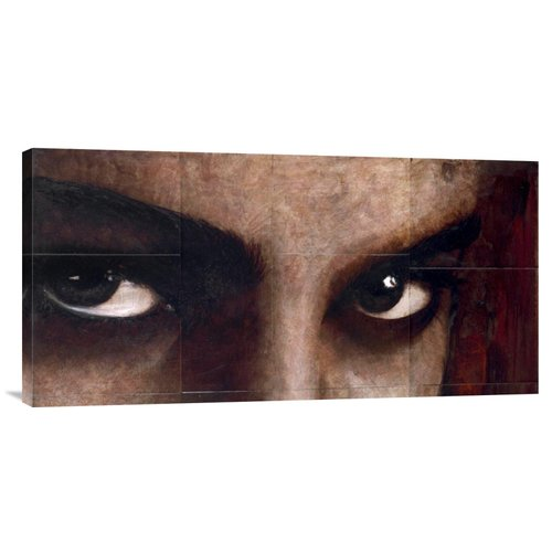 Global Gallery 'Sguardo Di Donna' by Massimo Sottili Painting Print on Wrapped Canvas
