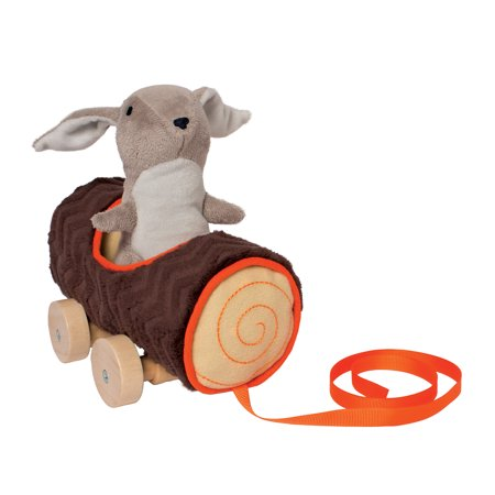 Donkey Pull Toy - Manhattan Toy Camp Acorn Bunny Pull Toy