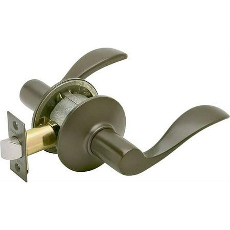 Schlage Lock F10 Acc 613 Accent Passage Lever Or Bronze