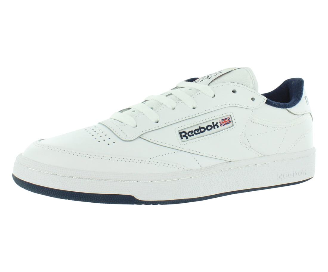 Medium Width Int-White/Navy Sneaker