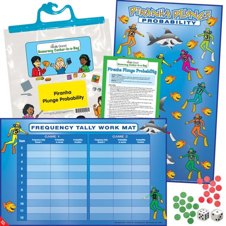 Numeracy Kit (Numeracy Center-In-A-Bag™: Piranha Plunge)