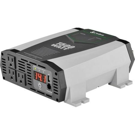 Cobra CPI1590 2.1A USB 12V DC to 120V AC Power Inverter Ac 120 Watt Usb Inverter