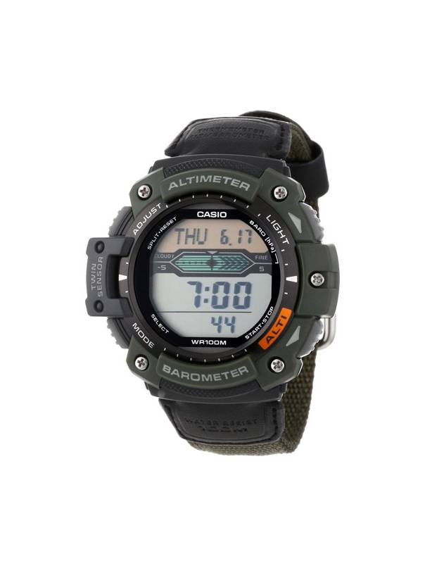 Casio Altimeter, Barometer, and Thermometer Watch by Casio