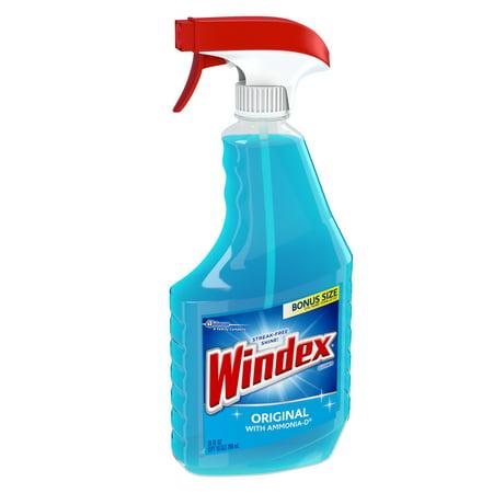 Windex Original Glass Cleaner Trigger 26 Fluid Ounces ...