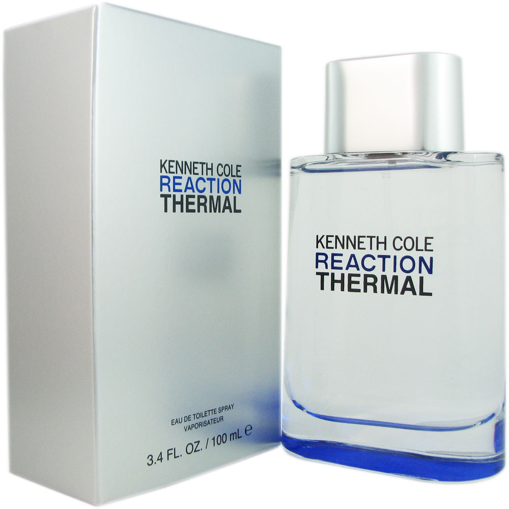 Kenneth Cole Reaction Thermal for Men 3.4 oz EDT Spray