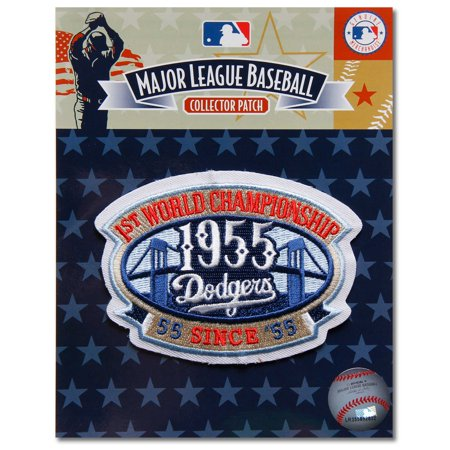 Brooklyn Dodgers 1955 World Series Champions Cooperstown Collection Commemorative Patch - No Size
