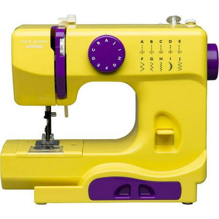 Janome Basic 40Stitch Portable Sewing Machine With Top DropIn Interesting Janome Basic 10 Stitch Portable Sewing Machine